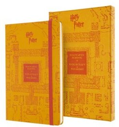 Harry Potter Hard Cover Ruled Large Limited Edition Notebook
