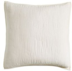 Cotton Voile Quilted Euro Sham