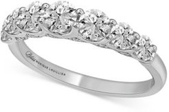Diamond Anniversary Band (1-1/2 ct. t.w.) in 14k White Gold