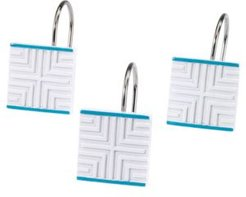 Mercer Shower Hooks Set Bedding