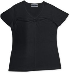 Ring-Detail Top, Created for Macy's