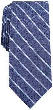 Primrose Slim Textured Stripe Tie, Created for Macy's