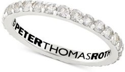 Peter Thomas White Topaz Stacking Band (3/4 ct. t.w.) in Sterling Silver