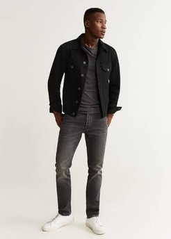 Black denim jacket black denim - XXL - Men