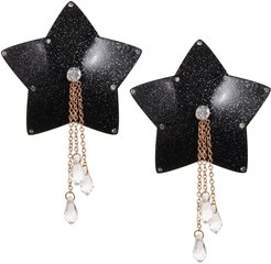 Stelline Pasties Black And Gold