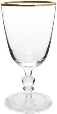 Willow Wine Glass - Gold