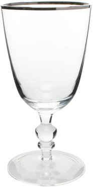 Willow Wine Glass - Platinum