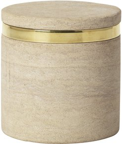 'Ring' Sandstone Cannister - Small