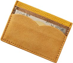 Monochromatic Card Holder - Ocher
