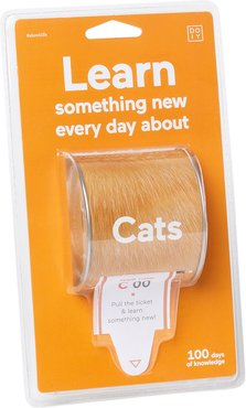 100 Facts Ticket Box - Cats