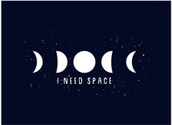 I Need Space Placemat