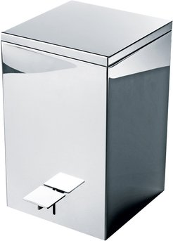 TE70 Pedal Bin - Polished Stainless Steel