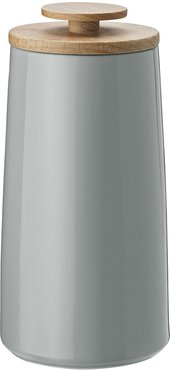 Emma Tea Canister/Storage Jar - Small - Gray