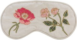 British Blooms Cotton Eye Mask - Natural