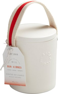 Stitched Handle Candle - Sun Kissed