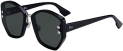 DiorAdd2 Square Acetate Sunglasses