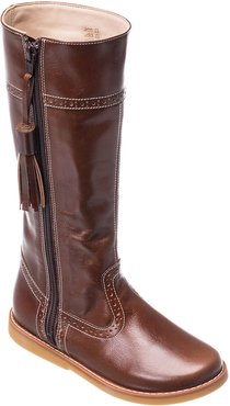 Girl's Leather Riding Boots, Kids