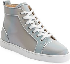Louis Orlato Leather High-Top Sneakers