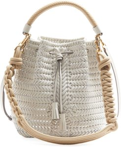 The Neeson Small Rope Drawstring Bucket Bag
