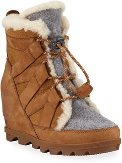 Joan of Arctic Wedge II Cozy Waterproof Boots