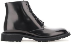 ARMY LACE-UP BOOTS 20 41 Black Leather