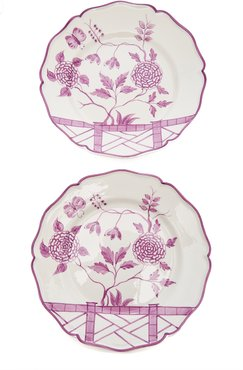 Exclusive Set-of-Two Le Jardin Chinois Dinner Plat