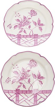 Exclusive Set-of-Two Le Jardin Chinois Dessert Pla