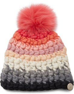 Striped Multi-Color Wool Beanie