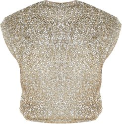 Sparkle Knit Crop Top