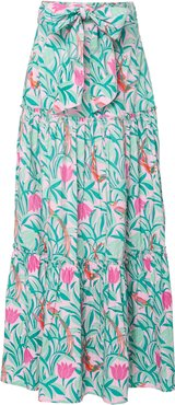 Discovery Printed Cotton Maxi Skirt