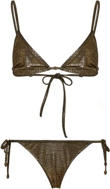 Metallic Bikini Set