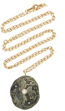 Marshy 18K Gold, Diamond And Stone Necklace