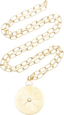 North Star 18K Gold And Diamond Necklace