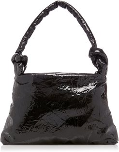 Bag Lady Padded Leather Tote Bag