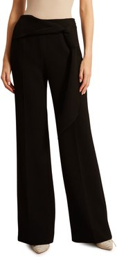 Sherbrooke Double Wool Crepe Trousers