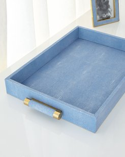 SHAGREEN RECTANGULAR TRAY
