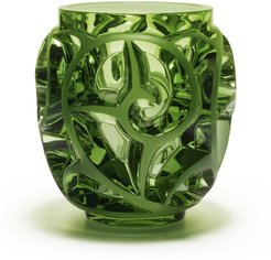 Tourbillons Limited Edition Green Vase