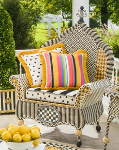 Courtyard Outdoor Wing Chair