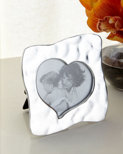 "Giftables Curved Heart Picture Frame, 5""Sq."