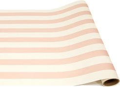 Pink Classic Stripe Paper Table Runner