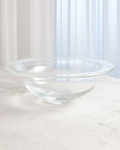 Spiral Bubbles Large Perfect Compote
