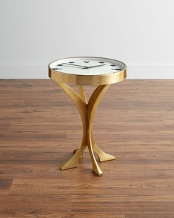 Timepiece Accent Table