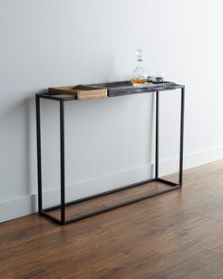 Shea Tray Top Console Table