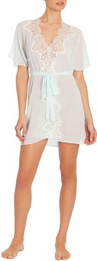 Stephanie Chiffon Short Robe