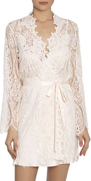 Caterina Short Lace Robe
