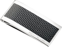 Carbon-Inlay Stainless Steel Money Clip