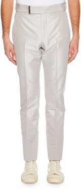 Atticus Flat-Front Trousers