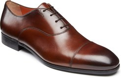Salem Leather Lace-Up Loafers, Brown