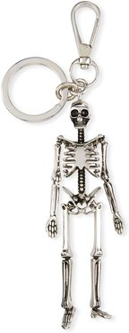 Skeleton Key Ring, Silvertone