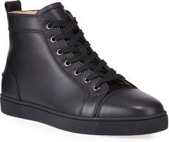Louis Leather High-Top Sneakers
